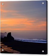 Gold Beach Sunrise Acrylic Print