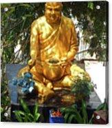 Gold Buddha 4 Acrylic Print