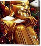 Gold Buddha 5 Acrylic Print