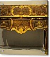 Gold Desk Acrylic Print