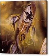 Gold Koi Acrylic Print