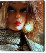 Gold N Glamour Acrylic Print