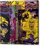 Gold Of The Desert Kings Acrylic Print