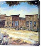 Gold Point Nevada Acrylic Print by Evelyne Boynton Grierson