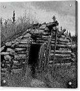 Gold Rush Cabin - Yukon Acrylic Print