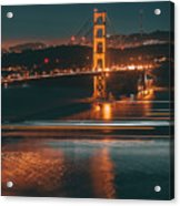 Golde Gate Bridge Acrylic Print