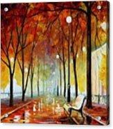 Golde Park Acrylic Print