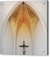 Golden Altar.. Acrylic Print by Al  Swasey