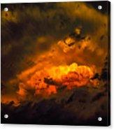 Golden Anvil Acrylic Print