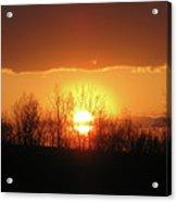 Golden Arch Sunset Acrylic Print