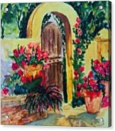 Golden Arches Acrylic Print