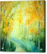 Golden Arches Ll Acrylic Print