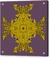 Golden Artifact Acrylic Print