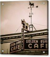 Golden Burro Cafe 2 Acrylic Print