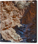 Golden Canyon Side Trail Death Valley Ca Acrylic Print