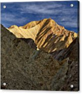 Golden Canyon View #2 - Death Valley Acrylic Print