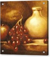 Golden Carafe Acrylic Print