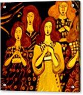 Golden Chords Acrylic Print
