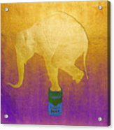 Golden Circus Acrylic Print