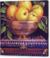 'golden Delicious' Acrylic Print