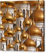 Golden Domes Acrylic Print