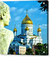Golden Domes Moscow Acrylic Print