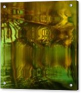 Golden Dreams II Acrylic Print