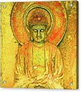 Golden Enlightenment Acrylic Print