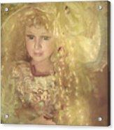 Golden Fairy Acrylic Print