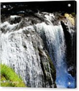 Golden Falls, Oregon Acrylic Print