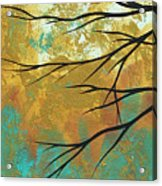 Golden Fascination 1 Acrylic Print