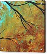 Golden Fascination 5 Acrylic Print