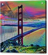 Golden Gate 1 Acrylic Print