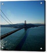 Golden Gate Blues Acrylic Print