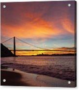 Golden Gate Bridge At Dawn Acrylic Print