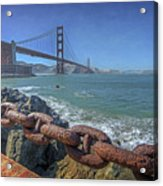 Golden Gate Bridge Acrylic Print by Everet Regal