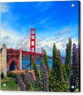 Golden Gate Bridge Five Acrylic Print