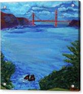 Golden Gate Bridge From Lincoln Park Acrylic Print