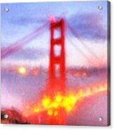 Golden Gate Bridge IIi Acrylic Print