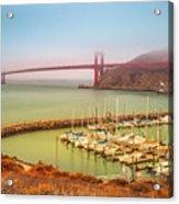 Golden Gate Bridge Sausalito Acrylic Print