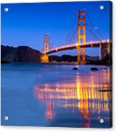 Golden Gate Dreams Acrylic Print