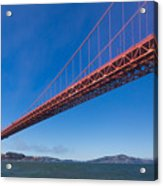 Golden Gate From The Bay Acrylic Print