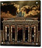 Golden Gate Acrylic Print by Joachim G Pinkawa