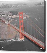 Golden Gate The Color Of The Bridge Acrylic Print