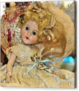 Golden Girl Acrylic Print