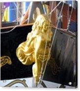 Golden Girl Of Gasparilla Acrylic Print
