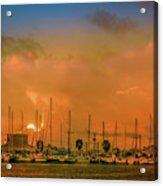 Golden Hour Acrylic Print