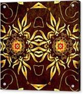 Golden Infinity Acrylic Print