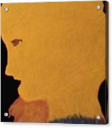 Golden Lady   -036 Acrylic Print