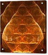 Golden Lamps Acrylic Print